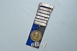CIVIL War U. S. CIVIL War Campaign Medal Made Into Ladder Badge Numbered