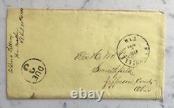 CIVIL War Union Letter 80th Ohio Vols. Detailing Death Of General Mcpherson 1864
