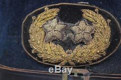 CIVIL War Us Major General Cavalry Cap Kepi Rare Original Union Army