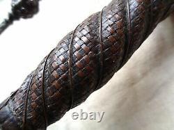 Ca 1640 DISH HILT RAPIER. ENGLISH CIVIL WAR ERA SWORD & FACE of KING CHARLES 1st