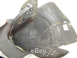 Circa 1650 Dutch/German English Civil War Period Zischagee Lobster Helmet