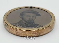 Civil War 1861 Ellsworth the Martyr & Brownell the Avenger Tintypes 1 Rare