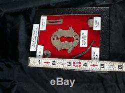 Civil War Artifacts Charleston SC Button, Musket Ball, Nail, Chest Key Hole, etc