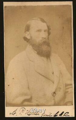 Civil War CDV Confederate General A P Hill KIA Petersburg