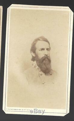 Civil War CDV Confederate General James J Archer Tennessee