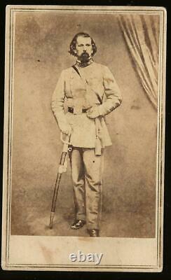 Civil War CDV Confederate General Lloyd Tilghman