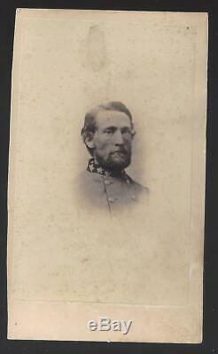 Civil War CDV Confederate Major John Mosby the Grey Ghost