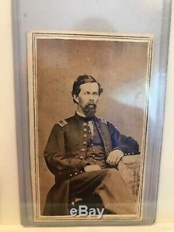 Civil War CDV Lt. Joseph Wylie, Co. I, 47th Illinois Infantry