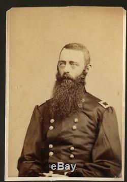 Civil War CDV Union General David M Gregg Cavalry