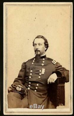 Civil War CDV Union General Frank Wheaton of Rhode Island