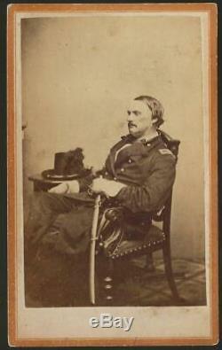 Civil War CDV Union General Israel Richards KIA Antietam