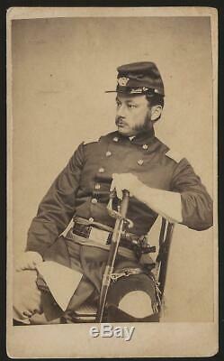 Civil War CDV Union General Robert Potter IX Corps AOP