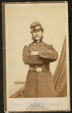 Civil War CDV Union General Thomas G Stevenson KIA Spottsylvania