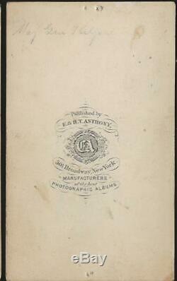 Civil War CDV Union Judson Kilpatrick Cavalry