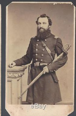 Civil War CDV of Union Colonel Charles Albright 132/34/202 Pa Volunteers
