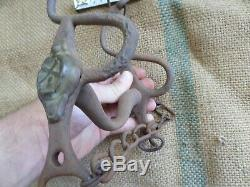 Civil War Confederate Army Used Artillery French Made Horse Bit M1853