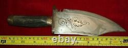 Civil War Confederate Bowie Knife No Sword Dagger Tiffany
