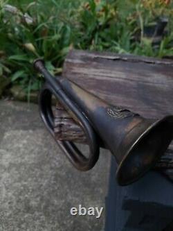Civil War Confederate Bugle. Excellent Petina