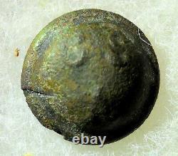Civil War Confederate Button CS / A Artillery Pewter no b/m