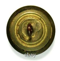 Civil War Confederate Georgia State Militia Coat Button A GA1, T GA200B3 channel