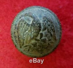 Civil War Confederate Staff Officer's Button 22mm Dug Virginia