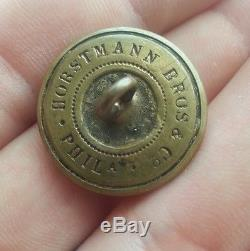 Civil War Confederate Virginia Coat Button Horstmann VA20