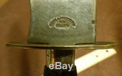 Civil War Era Bowie Knife Cook & Brothers New Orleans Southern Knife