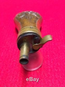 Civil War Era Colt 1849 Pocket or Root Pocket Powder Flask