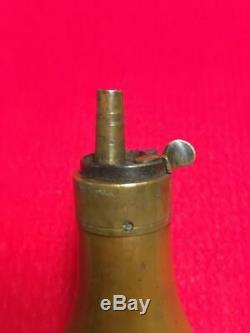 Civil War Era Colt 1849 Pocket or Root and Baby Dragoon Pocket Powder Flask