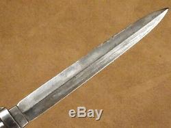 Civil War Era Dagger Dirk knife Ebony Hilt with Scabbard