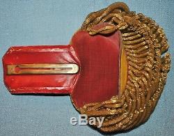 Civil War Era Epaulettes & Metal Case