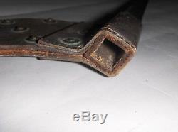 Civil War Era Swiss Vetterli Rifle M1867 1871 Cruciform Socket Bayonet Scabbard