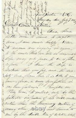 Civil War Letter Postmaster Details Local Dead, Glorious Gettysburg, Vicksburg
