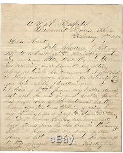 Civil War Letters - Frozen Foot, Toe Came Off, Child Soldier Dies