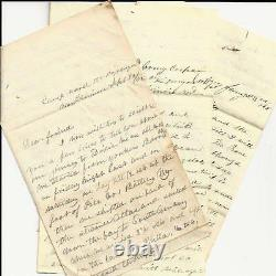 Civil War Letters NY 6th Marched Where Stonewall Jackson Said to be