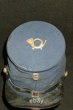 Civil War M-1858 Forage Bummers Cap Kepi Wilson's 6th NY Infantry Regiment VF