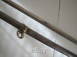 Civil War Model 1860 Staff&Field Presentation Sword withScabbard-Shannon, Miller&Co