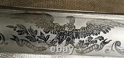 Civil War Non-Regulation Foot Officer Sword US Eagle-Clauberg Soligen 1861-1865