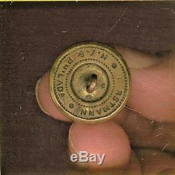 Civil War Pennsylvania Militia Staff Coat Uniform Button