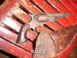 Civil War Period 1858 Remington 36 Cal. (Non Firing) Indian Used Works Great