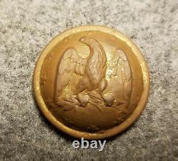 Civil War Rare Confedetate Officer's Button CS 20 Excavated Spotsylvania, Va