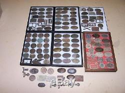 Civil War Relic WITH HOOKS U. S Box Plate non Dug Bp18