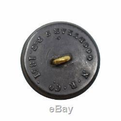 Civil War Rubber Goodyear Pat. 20mm Uniform Coat Button Berdan's Sharpshooters