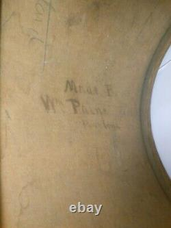Civil War Snare Drum By Wm. Paine, Portland Maine, Similar In Maine St Museum