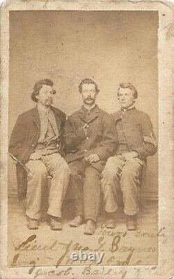 Civil War Soldier CDV 34th Pennsylvania (5th Reserves) Trio