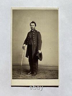 Civil War Soldier CDV Bvt. Brig. General Robert C. Cox 207th Pennsylvania