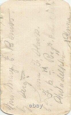 Civil War Soldier CDV James F. Slack 6th PA Cavalry
