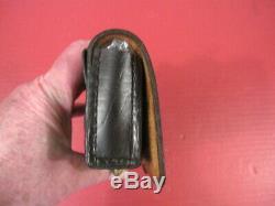 Civil War Union Leather Cavalry Cartridge Box for 36 cal Revolver Original #1