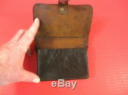 Civil War Union Leather Cavalry Cartridge Box for 36 cal Revolver Original #2