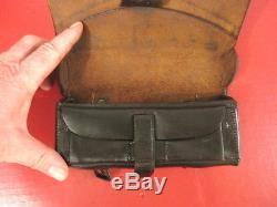 Civil War Union Leather Pistol Cartridge Box for 1842 Single-Shot Pistol RARE
